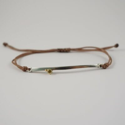 EYA BRILLIANT SMOKEY QUARTZ BRACELET